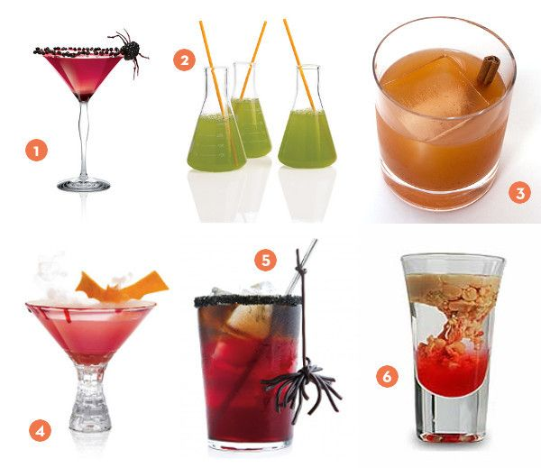 halloween drinks names