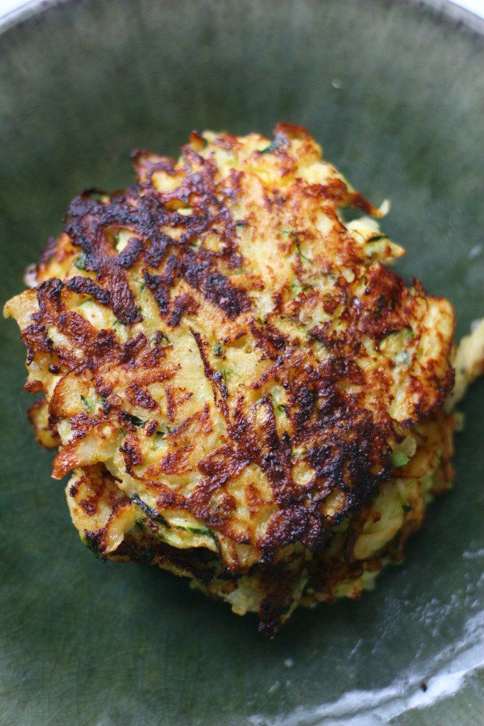 zucchini latkes | Healthy eating | Pinterest
