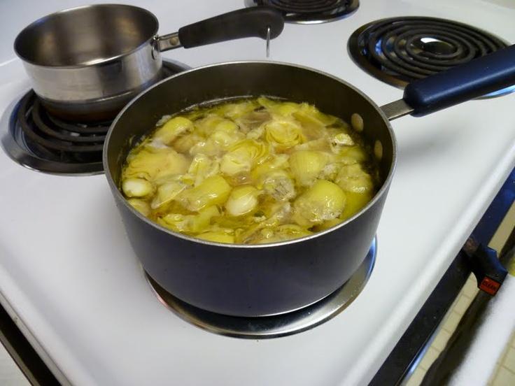marinated artichoke hearts | Tasty Recipes | Pinterest