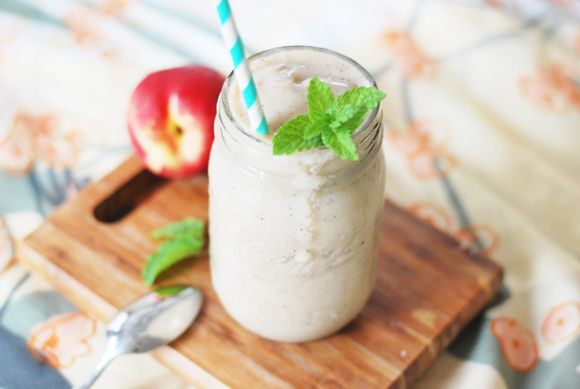 Melon Peach Creamsicle Smoothie | Thirsty | Pinterest