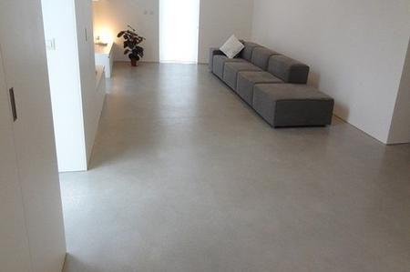 Pavimento in cemento battuto