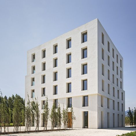 Immeuble de bureau 2226 lustenau architecture bureaux for Immeuble bureau