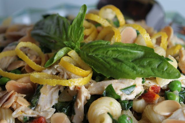 Lemon-Basil Chicken Pasta Salad