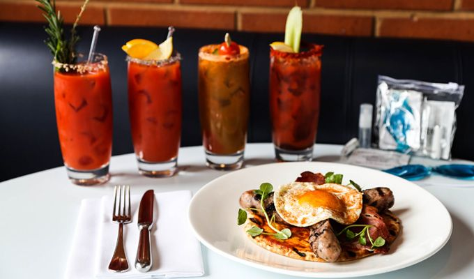 ... Bloody Maria's; Mediterranean-inspired Red Snappers or spicy Virgin