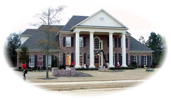 Colonial Plantation House Plan 48662