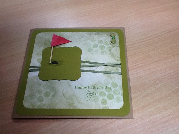 father's day golf cards