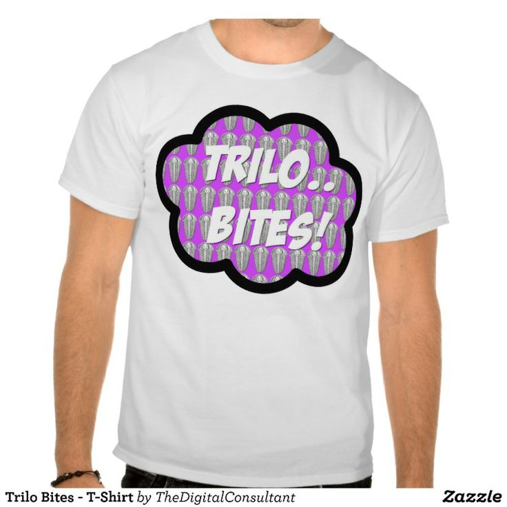 trilo bites t shirt trilobites