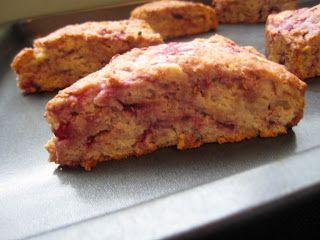 Whole Wheat Raspberry Ricotta Scones | Yummy Recipes | Pinterest
