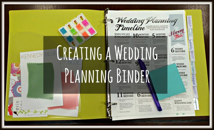 wedding binder printables