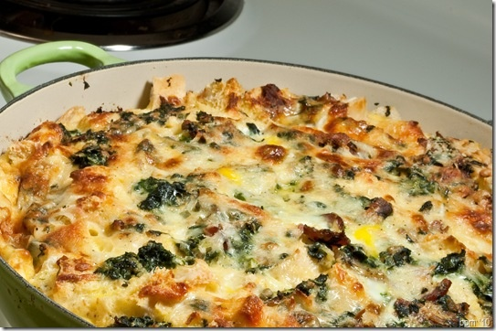 Bacon Spinach Strata | Yummy Dinner Dishes!! | Pinterest