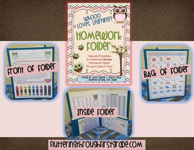 Whooo Loves Learning? ~ Make your own OWL themed homework folders.
