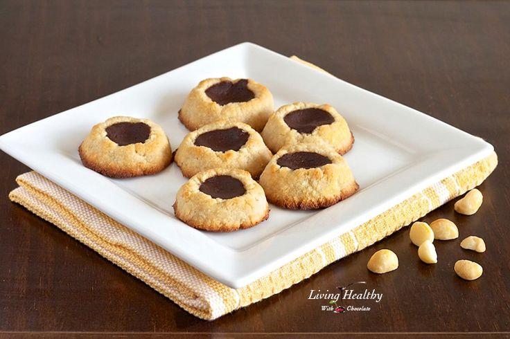 Kathleen King's Chocolate Thumbprint Cookies Recipes — Dishmaps
