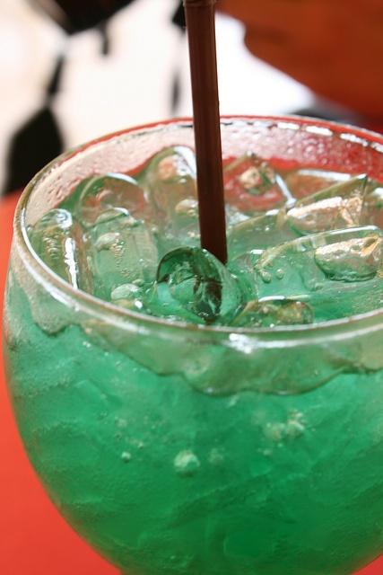 Italian soda, kiwi apple | la comida y las bebidas | Pinterest