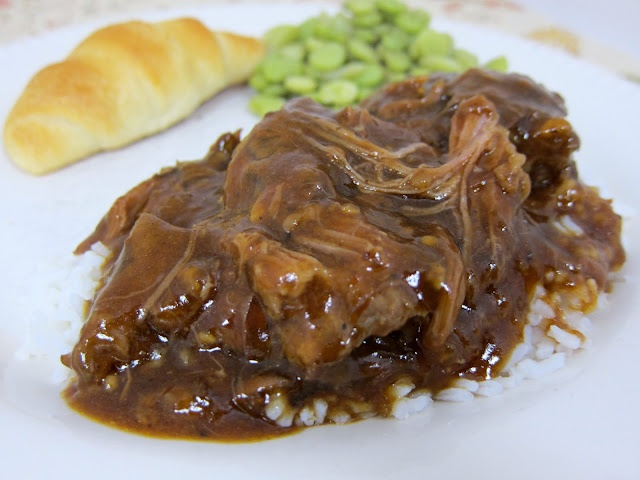Three Envelope Pot Roast {Slow Cooker} | Recipes | Pinterest