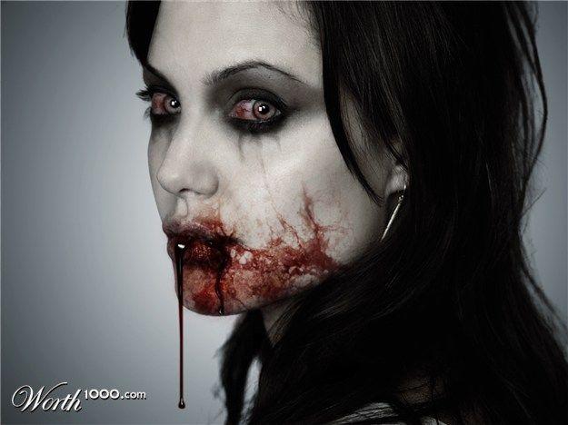 Jolie vampire
