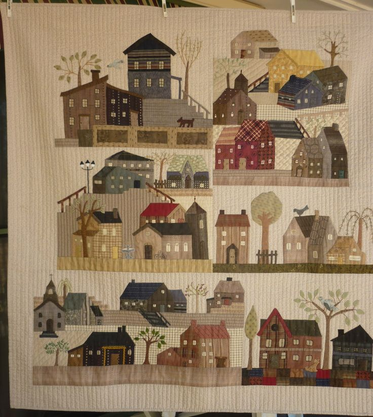 Quilting Patterns For Houses : yoko saito - Google Search Quilts: Old & New Pinterest