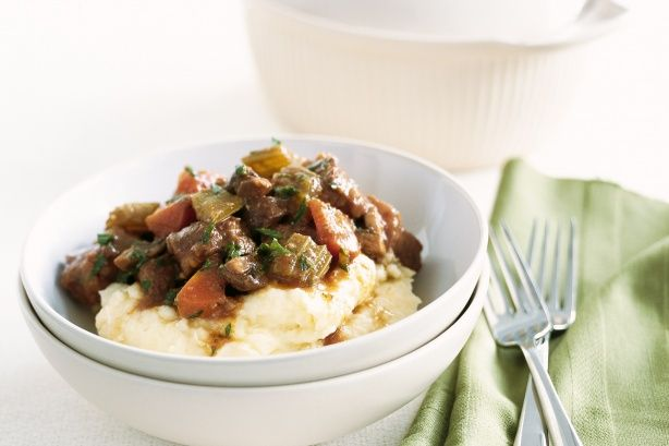 Beef and Guinness stew - used beef flank but needs to cook for at ...