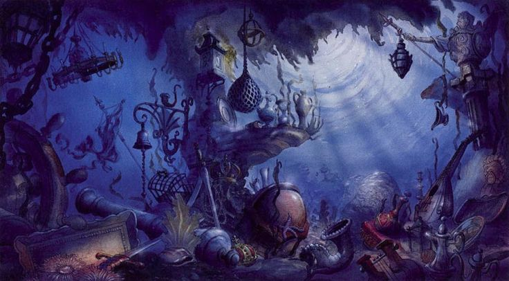 The Little Mermaid Concept Art | Part of Your World ...