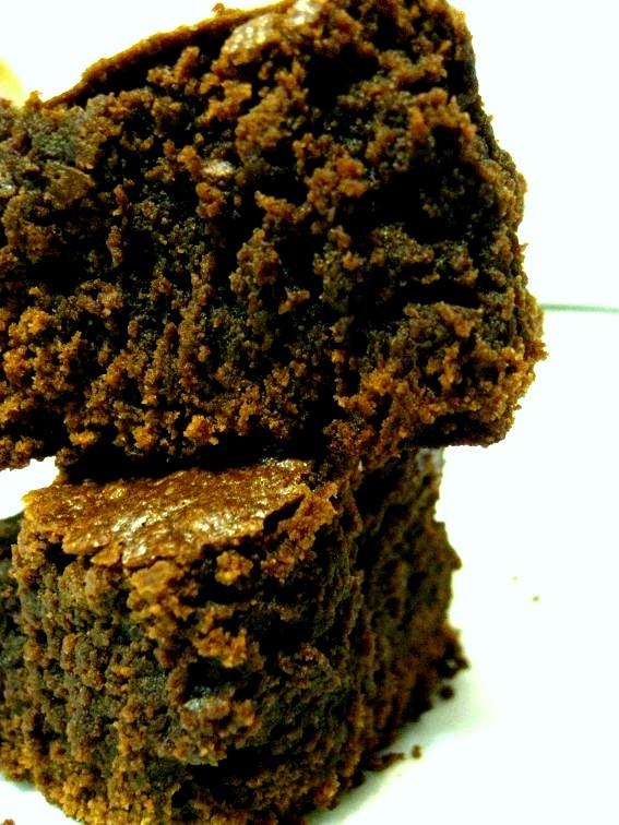 Bittersweet Chocolate Cake Brownies - Recipe- YUMMY. Making these ...