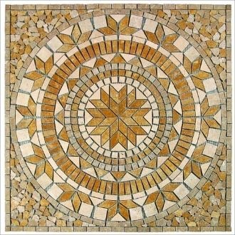 "Wholesale Tile :: Tile Medallion - 36""x36"" - Tumbled Marble - Catalina ..."