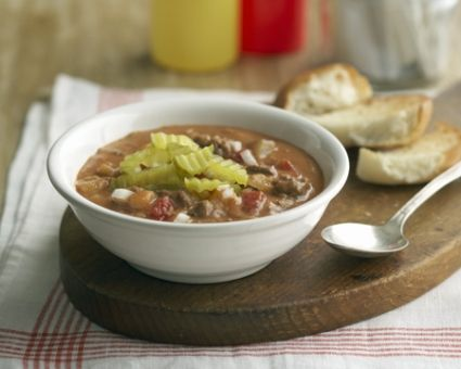 All American Cheeseburger soup http://www.thedailymeal.com/all ...