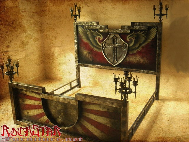 custom medieval bed furnitura pinterest
