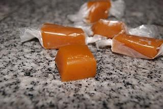 Salted Pumpkin Caramels   Recipes   Pinterest