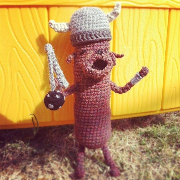 Amigurumi Hot Dog : Pin by ginger mcceig on yarns Pinterest