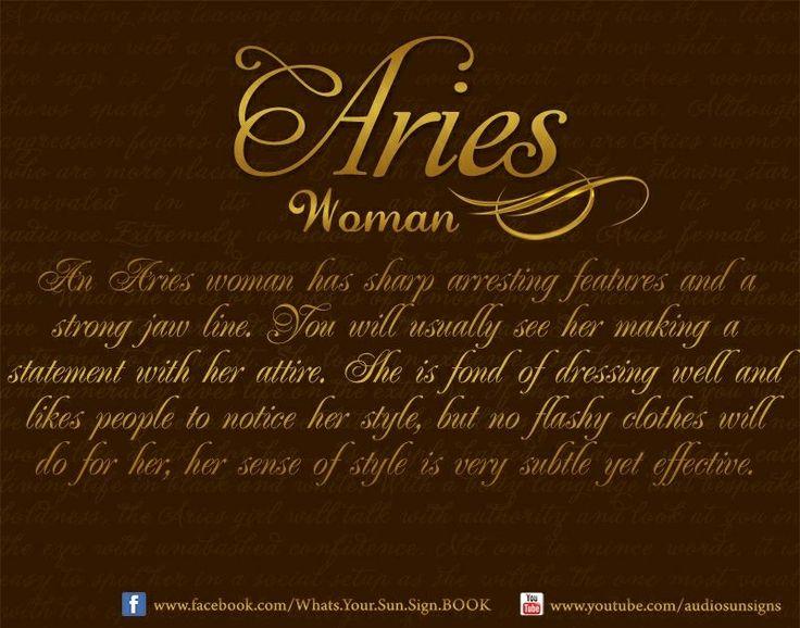date aries woman