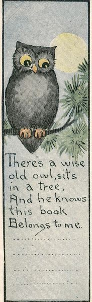 old and wise book plate, @shaunaleelange curates