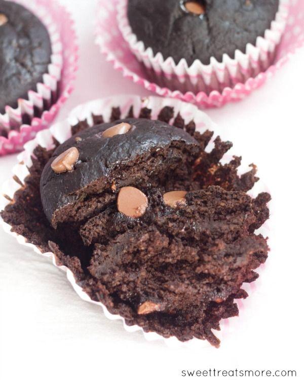 Triple Chocolate Chunk Muffins | Recipe