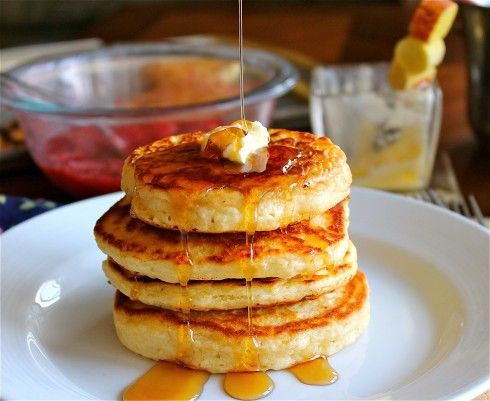 Good Old Fashioned Pancakes | TheFoodCharlatan.com