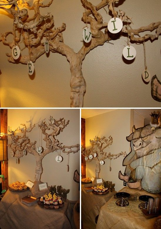 omg love this where the wild things are themed baby shower