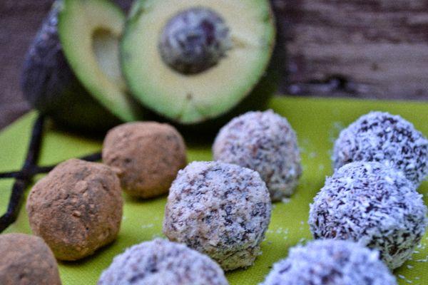 Dark Chocolate Avocado Truffles - peace. love. quinoa