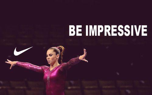 Be impressive.