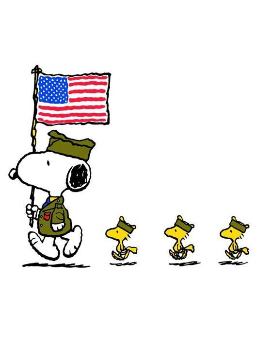 snoopy memorial day pictures