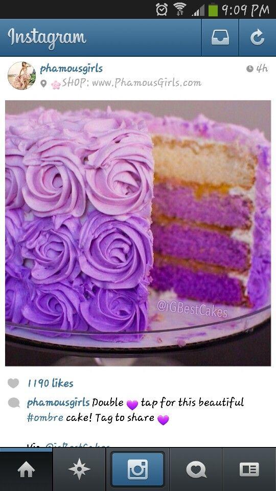 Purple-rific Layer Cake Recipe — Dishmaps