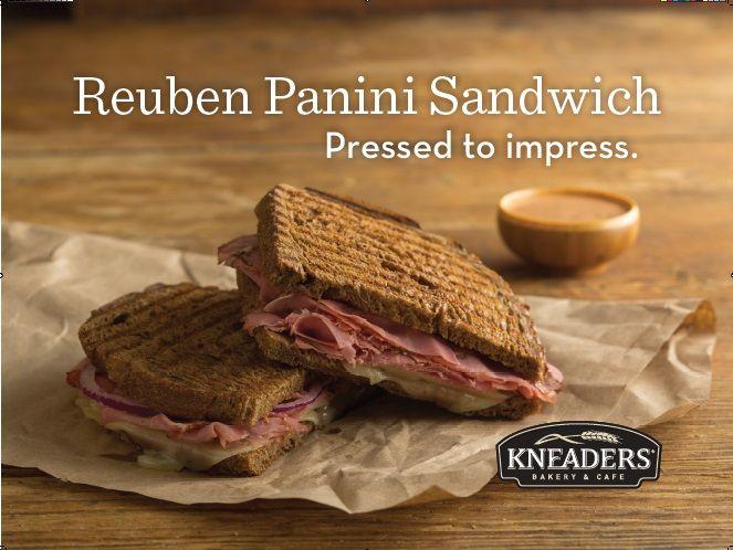 Reuben Panini Sandwich- Pressed to impress