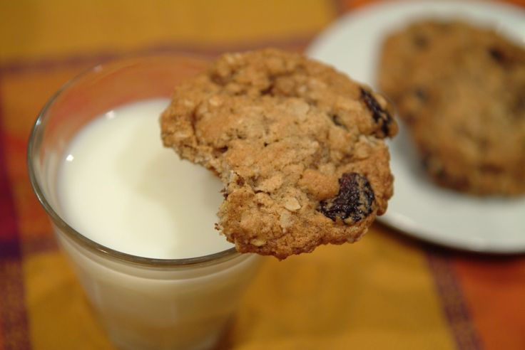 Chewy Cherry Oatmeal Cookies | good to eat | Pinterest