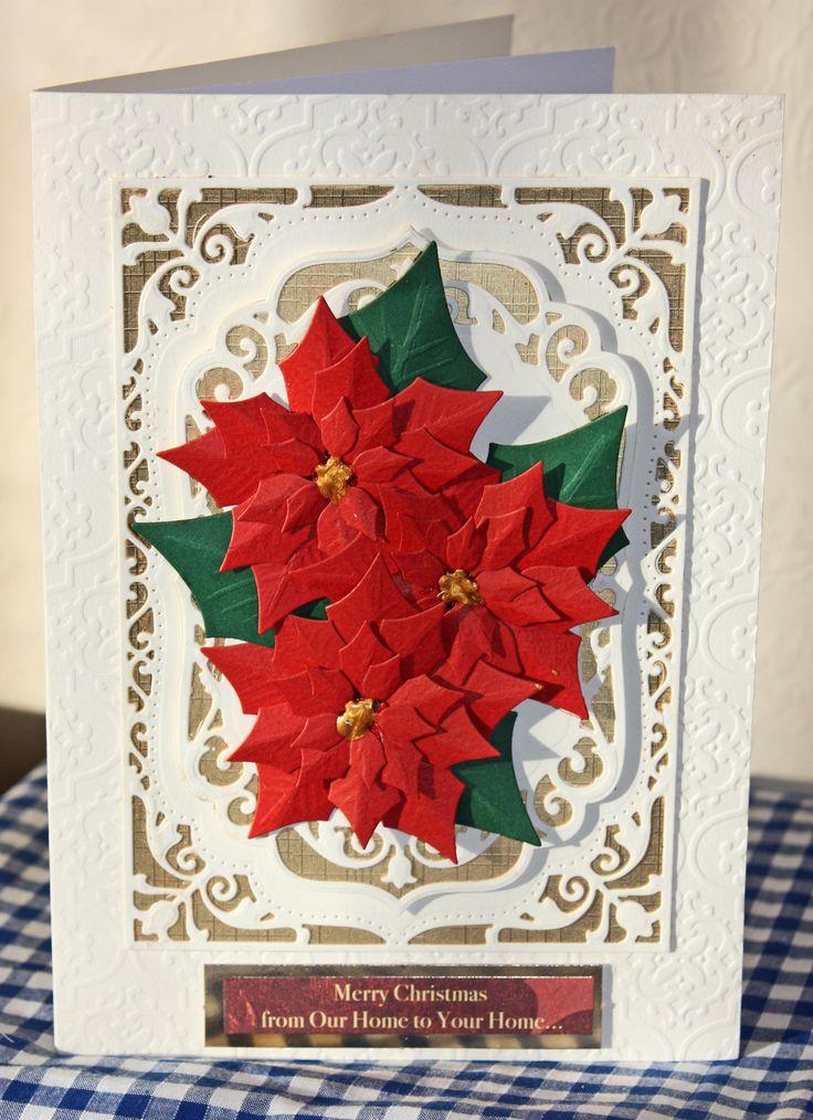 Spellbinders dies handmade christmas cards 2013 pinterest for Handmade christmas cards pinterest