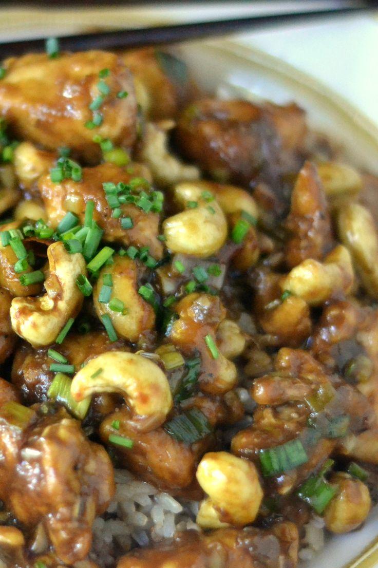 Spicy Garlic Cashew Chicken Recipes — Dishmaps