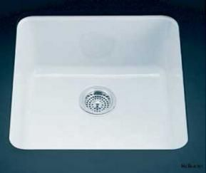 white enamel sink Kitchen Ideas Pinterest