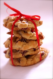 Cranberry Almond White Chocolate Cookies | cookie crumbles ...