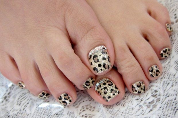 Pedicure Nail Art Designs for Fall | Nails | Pinterest