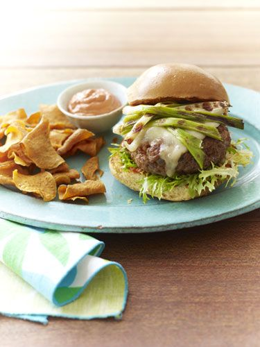 Pork & Chorizo Burgers (The Yummiest Burger Recipes Ever - Redbook)