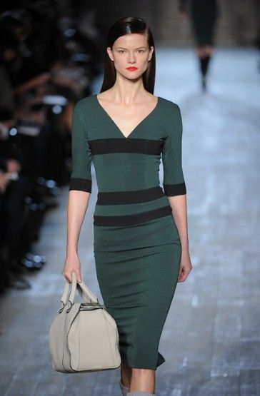 New York Fashion Week: Victoria Beckham autumn/winter 2012
