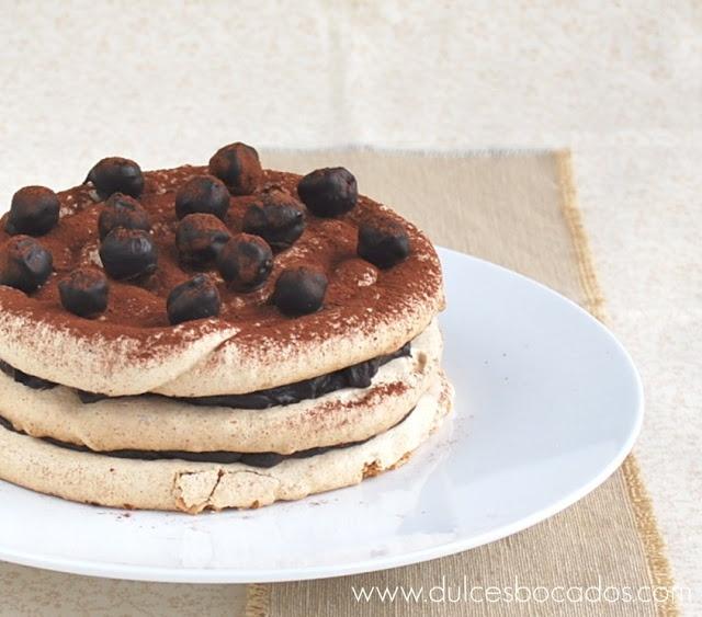 Chocolate & Hazelnut Meringue Cake Recipe — Dishmaps