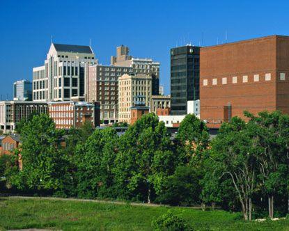 Beautiful Greenville, South Carolina. My favorite view of downtown