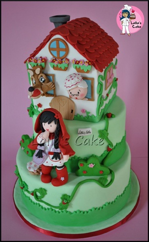 Little Red Ridding hood cake