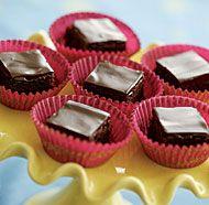 Kahlua Truffle Triangles Recipe — Dishmaps
